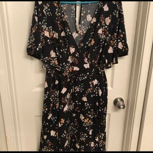 Torrid Floral Fit & Flare Dress
